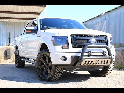 Accesorios Para Trocas Ford F150 >> 2013 F150 Fx4 Fully Loaded Roush Upgrades With Custom Accessories