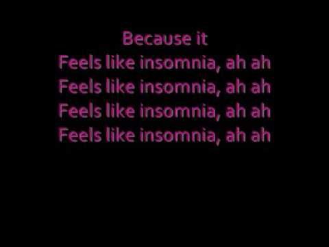 Insomnia - WheeSung with lyrics