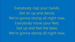 Stomp Steps Karaoke with backing vocals [Official]