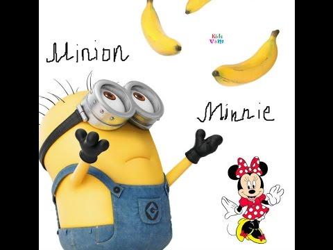 Киндер сюрприз Минни Маус. Игрушка Миньон. Kinder surprise Minnie Mouse. Toy Minion