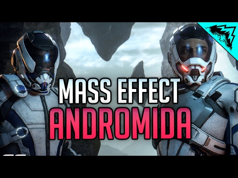 MASS EFFECT ANDROMEDA - First Mass Effect Experience (Part 1 Gameplay Part 1 and Impressions)