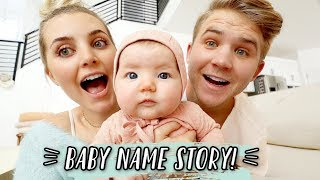 HOW WE CHOSE OUR BABY'S NAME!