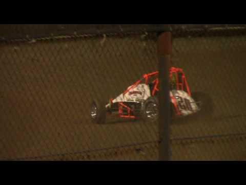 Chris Bennett testing a NEWS at New Egypt Speedway