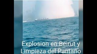 Analisis: Explosion de Beirut y Limpieza del Pantano