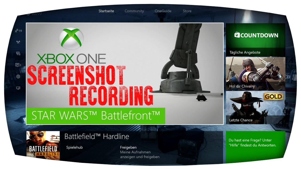 Xbox One Screen Recorder [Screenshot & Game Recording ...