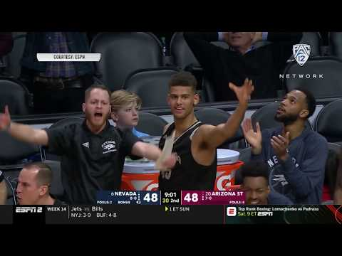 Highlights: Arizona State men's basketball succumbs to second-half Nevada comeback