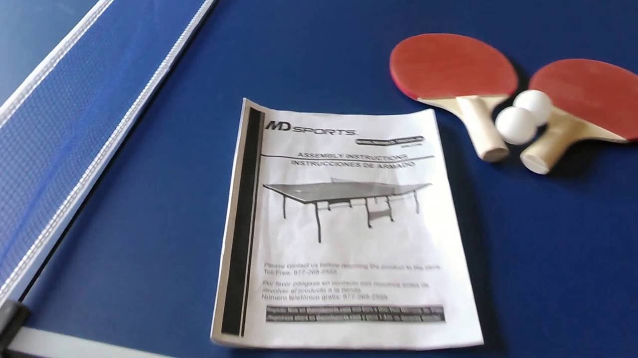 Wonderful MD SPORTS PING PONG TABLE REVIEW