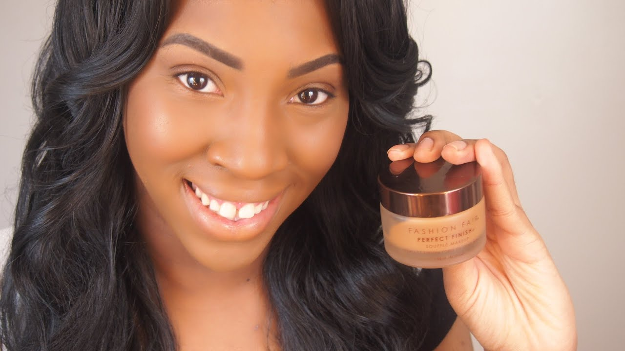 Fashion Fair Beauty Products: Full Coverage Foundation Routine Feat Fashion Fair Perfect
