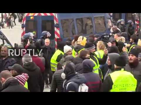 : Yellow Vests call for new protests in Paris on final day of Macron&39;s &39;Grand Debate&39;