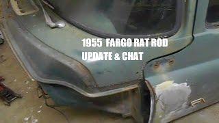 1955 DODGE  FARGO RAT ROD BUILD part 2