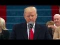 Trump's inaugural speech targets 'forgotten' citizens