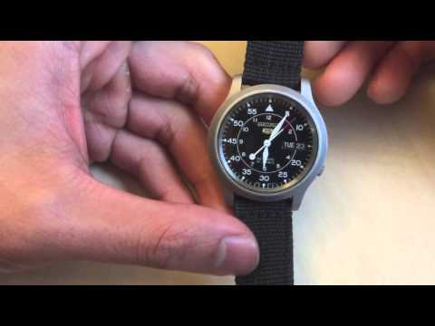 How to Hack Your Seiko SNK809 Watch/7S26 Movement