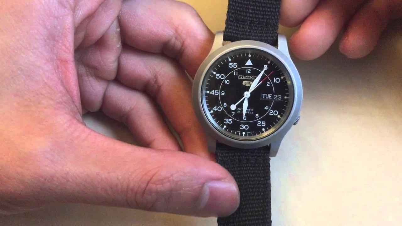 Характеристики наручных часов Seiko SNKN55 на
