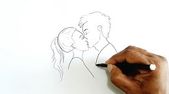 How to Draw a Kiss