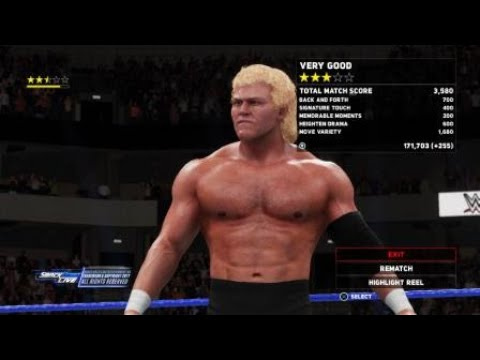 WWE 2K18 king of the ring James fatal vs. Sycho sid