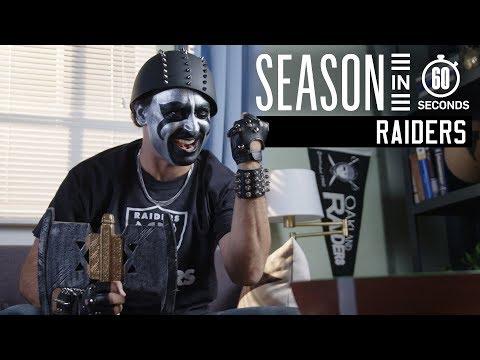 Oakland Raiders Fans | Season In 60 Seconds