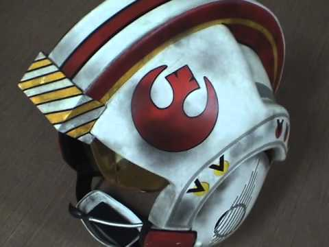 Building A Star Wars X Wing Pilot Helmet Part 2