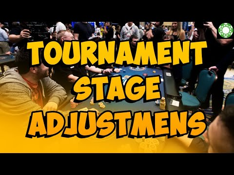GTO Adjustments to CRUSH Tournaments! from YouTube · Duration:  25 minutes 55 seconds