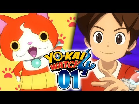 YO-KAI WATCH 4 ÉPISODE 1 - YO-KAI WATCH ENFIN SUR NINTENDO SWITCH ! L'AVENTURE COMMENCE !