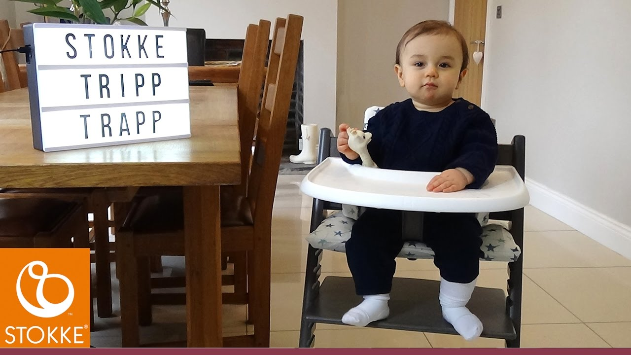 stokke tripp trapp highchair system lifestyle direct2mum youtube. Black Bedroom Furniture Sets. Home Design Ideas