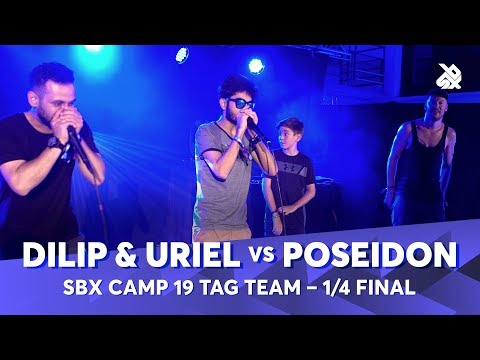 DILIP & URIEL vs POSEIDON   SBX Camp 2019 Tag Team Battle   1/4 Final