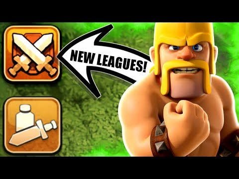 WAR LEAGUES COMING TO CLASH OF CLANS! - NEW UPDATE INFORMATION 2018