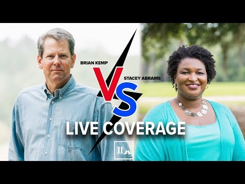 LIVE: Georgia governor race: Stacey Abrams vs. Brian Kemp
