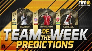 FIFA 18 TOTW 29 Predictions FT SIF Aubameyang, SIF Lewandowski, IF Ibrahimovic