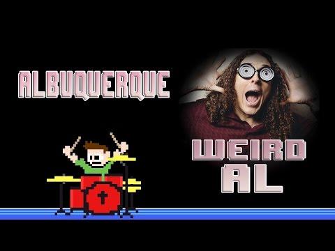 Weird 'Al' Yankovic - Albuquerque (Drum Cover) -- The8BitDrummer
