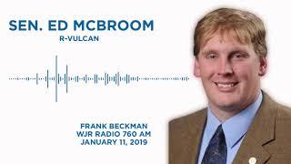 Sen. McBroom joins the Frank Beckman Show on WJR Radio 760 AM