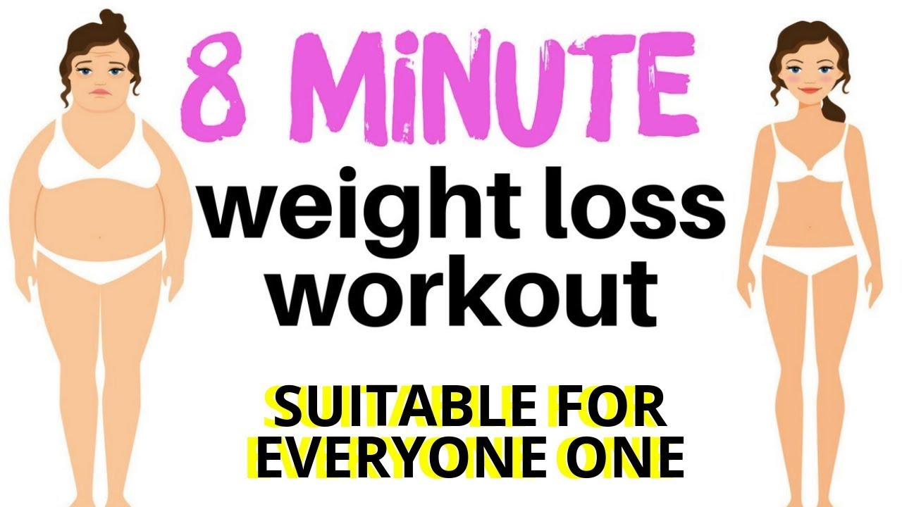 Weight Loss Workout Quick Home Fitness Exercise Video With The Best Exercises For Weight Loss Youtube