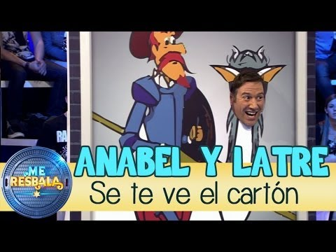 Me Resbala - Se te ve el cartón: Carlos Latre y Anabel Alonso