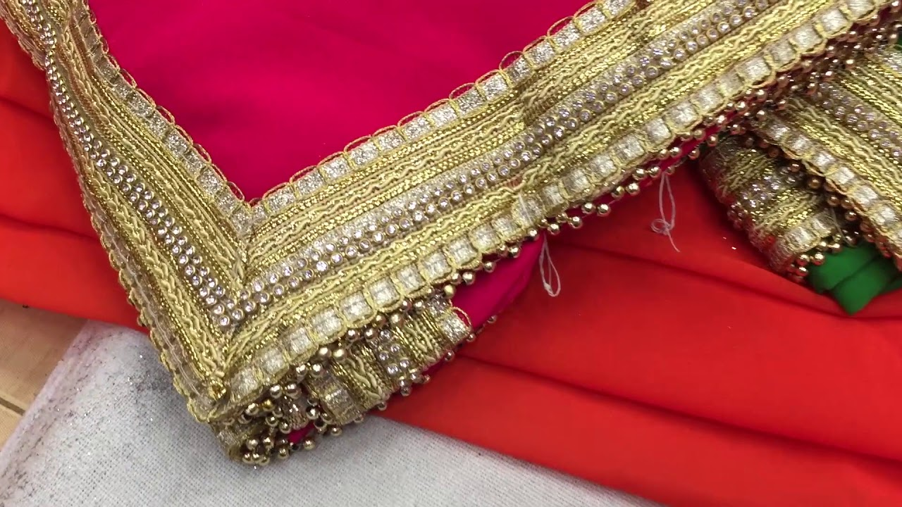 62d2d0db9f latest designer georgate sari for wedding and bridal surat saree in  wholesale price3