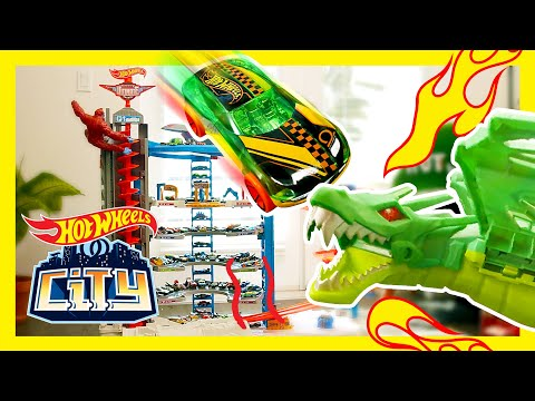 ROBO-DRAGON HEAT WAVE IN HOT WHEELS CITY! | New News | @Hot Wheels