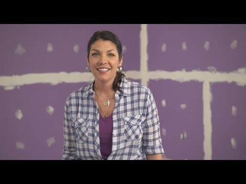 How To Install & Finish Drywall With Anitra Mecadon