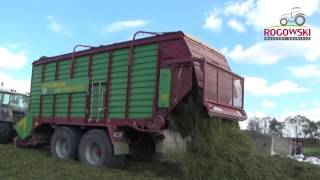 Zbiór Traw Fendt 820 Vario TMS  Strautmann giga vitesse  54km/h !!! Rogowski Usługi Dla Rolnictwa