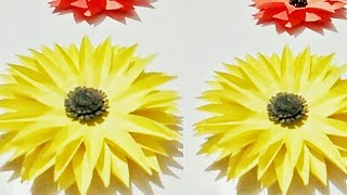 DIY - Simple Home Decor - Flowers - Paper Craft - Handcraft - By Crafting Happiness