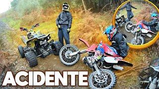 ACIDENTE DE MOTA NO MONTE !!!