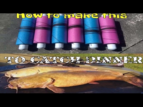 How To Make Jug Lines For Catfish