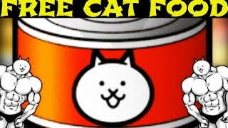 The Battle Cats | How to Get Free Cat Food