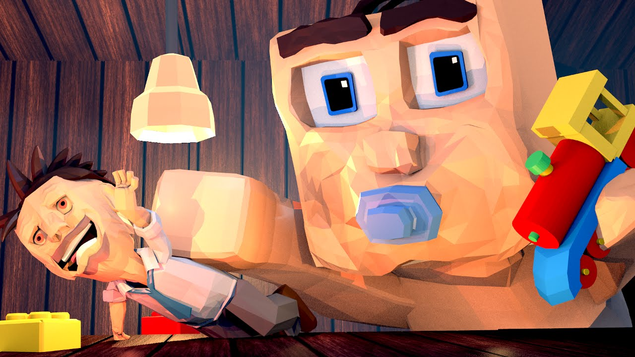 Minecraft who 39 s your daddy dad turns baby into giant for The atlantic craft minecraft
