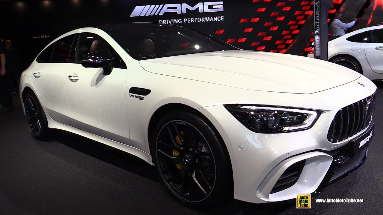 2020 Mercedes AMG GT 63 S 4Matic 4 door Coupe - Walkaround - 2019 Frankfurt Motor Show
