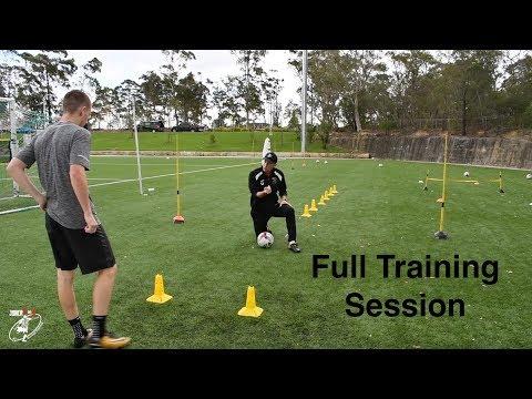 FULL SESSION | Loads Of Different Football Drills | Bailey Chapo | Joner 1on1