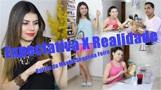 Rotina da Manhã Segunda Feira | Expectativa VS Realidade | Paloma Soares!