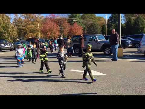 Towamensing Elementary School Halloween Parade