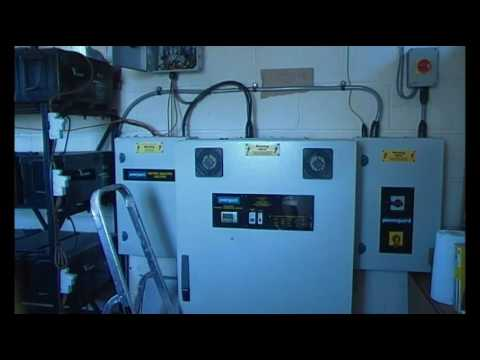 Solar diesel, off grid home power system