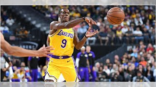 NBA: Lakers guard Rajon Rondo cleared by team medical staff to resume training; LeBron James to r...