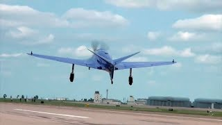 First Flight of Experimental Airplane Replica Ends In Mishap