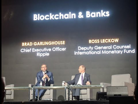 Ripple's Brad Garlinghouse and IMF's Ross Leckow : The future of international payments