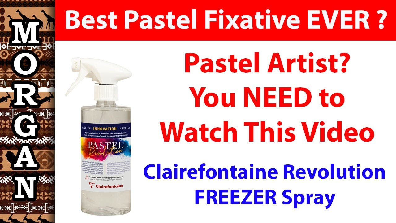 Clairefontaine Pastel Freezer fixative